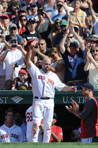 MLB: Atlanta Braves at Boston Red Sox