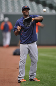 MLB: ALDS-Detroit Tigers at Baltimore Orioles-Workouts