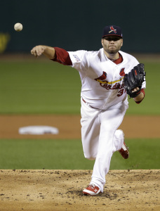 MLB: NLCS-San Francisco Giants at St. Louis Cardinals