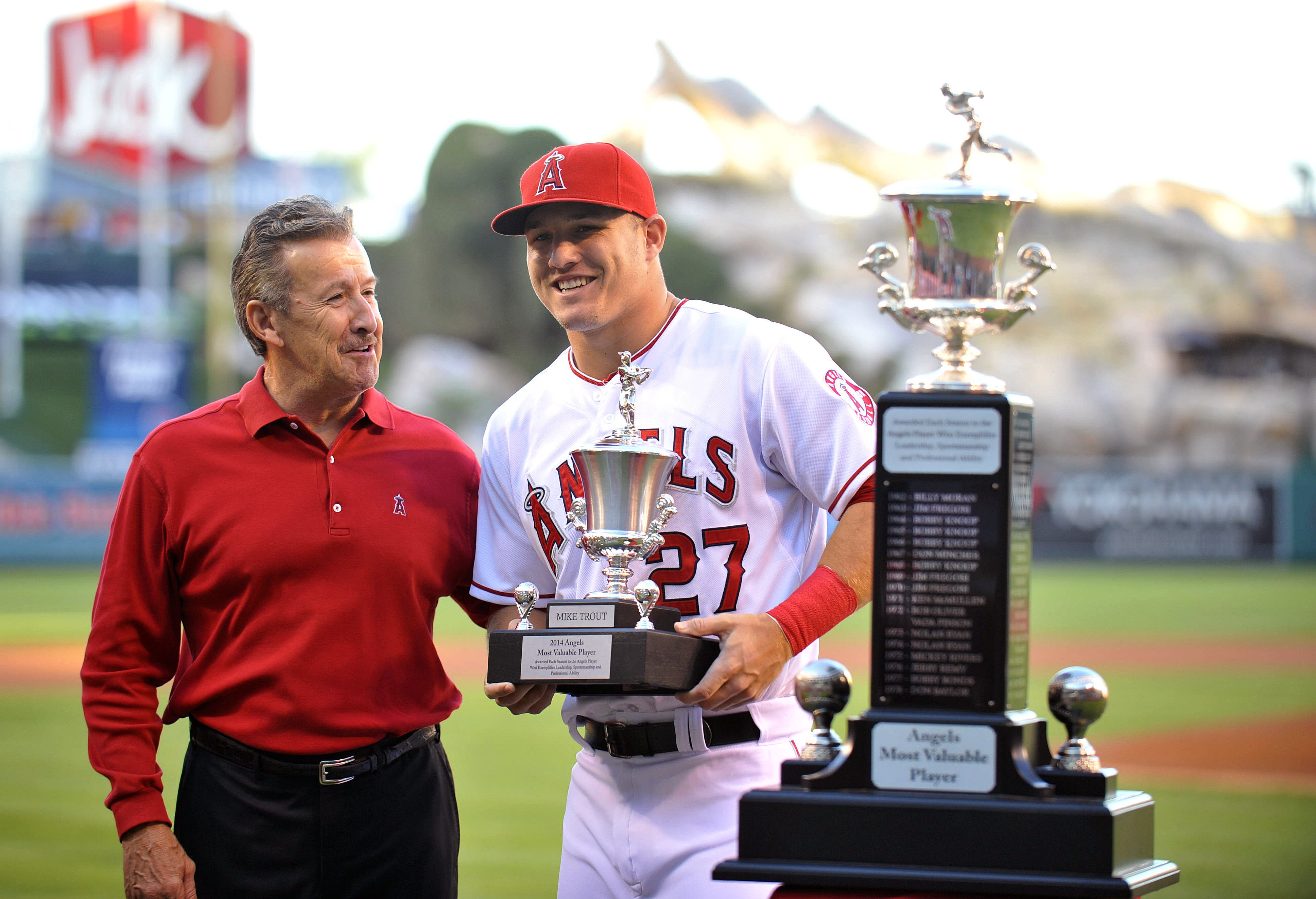 Arte Moreno/Mike Trout