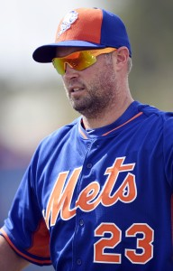 MLB: New York Mets-Workout