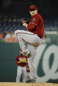 MLB: Arizona Diamondbacks at Washington Nationals