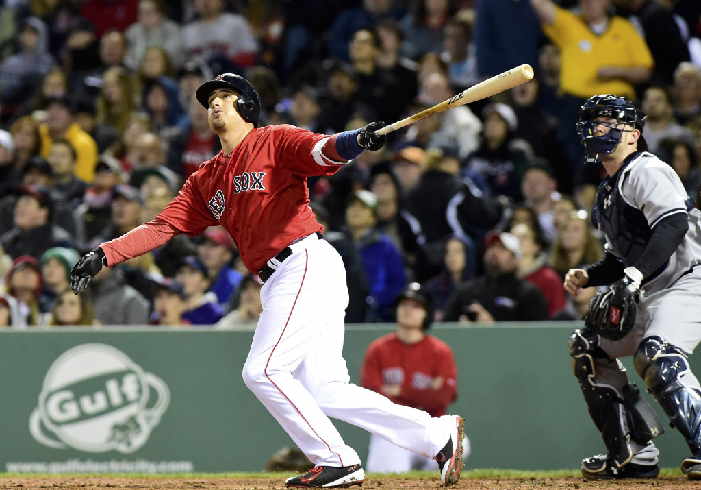 Red Sox Outright Allen Craig
