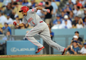 MLB: Cincinnati Reds at Los Angeles Dodgers