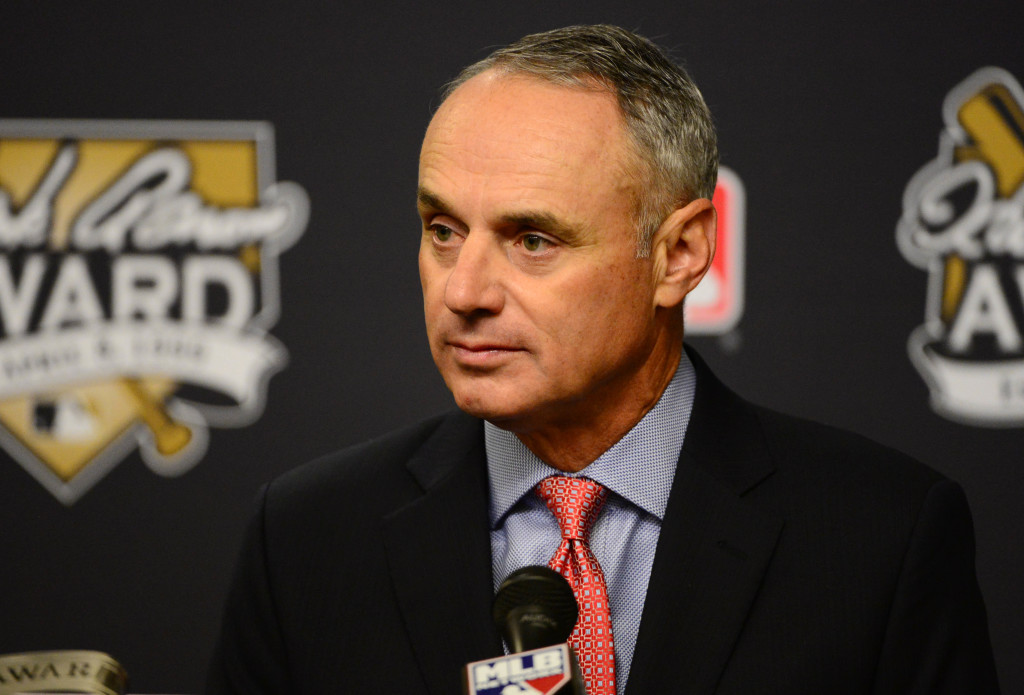 Manfred On Athletics, MLB Diversity, Minor League Wages ...