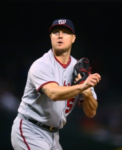 MLB: Washington Nationals at Arizona Diamondbacks
