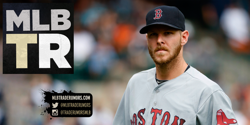 7ba50dd79 Red Sox Acquire Chris Sale In Exchange For Yoan Moncada, Michael Kopech,  Two Others - MLB Trade Rumors