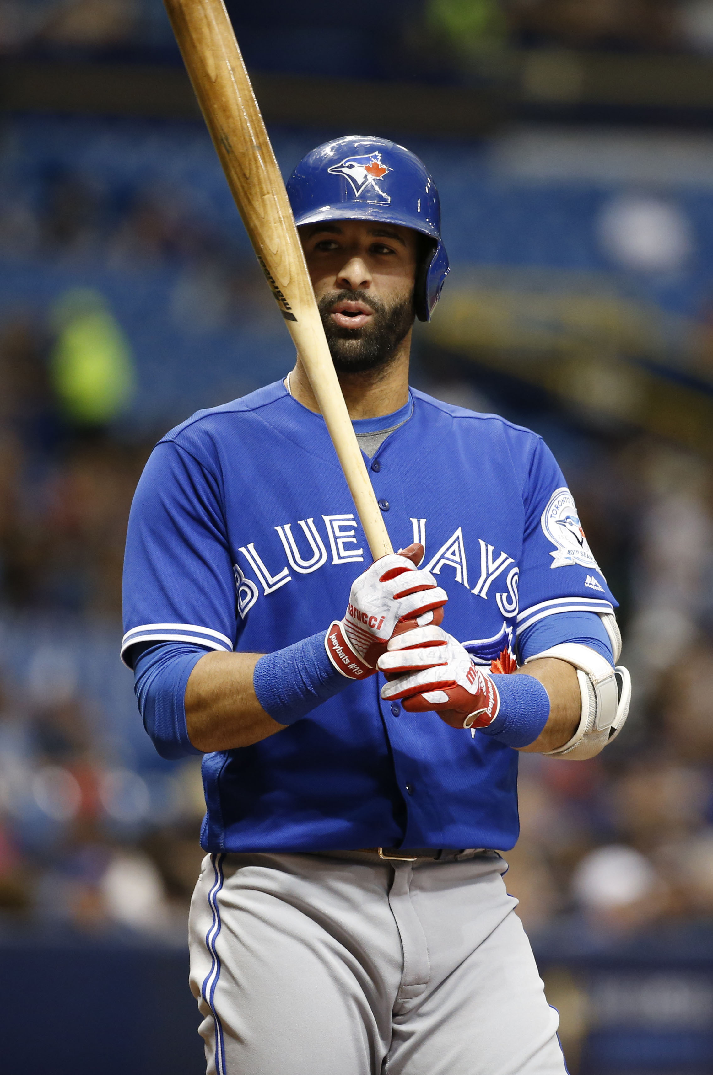 Jose bautista home run projections