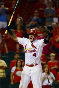 Yadier Molina | Jeff Curry-USA TODAY Sports