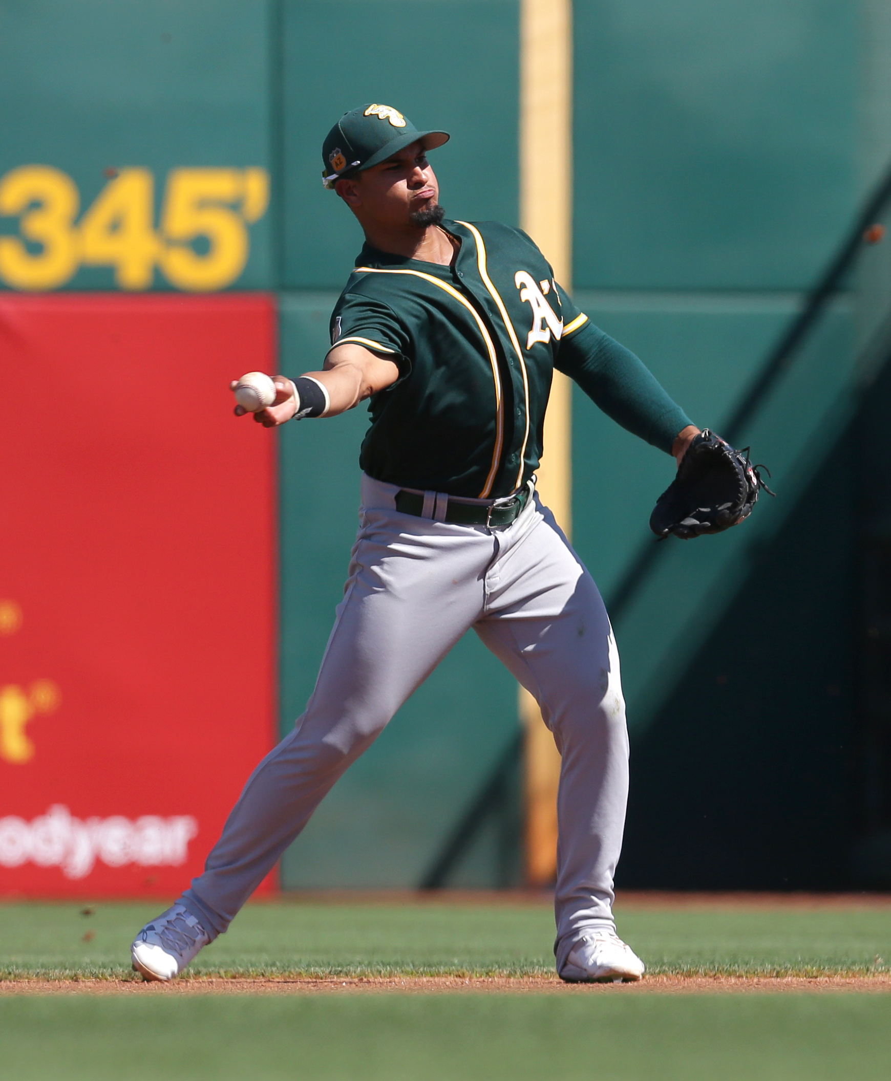 Athletics Promote Franklin Barreto
