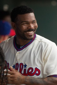 Howie Kendrick | Bill Streicher-USA TODAY Sports