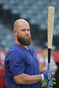 Mike Napoli | Kirby Lee-USA TODAY Sports