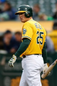 Ryon Healy | Stan Szeto-USA TODAY Sports