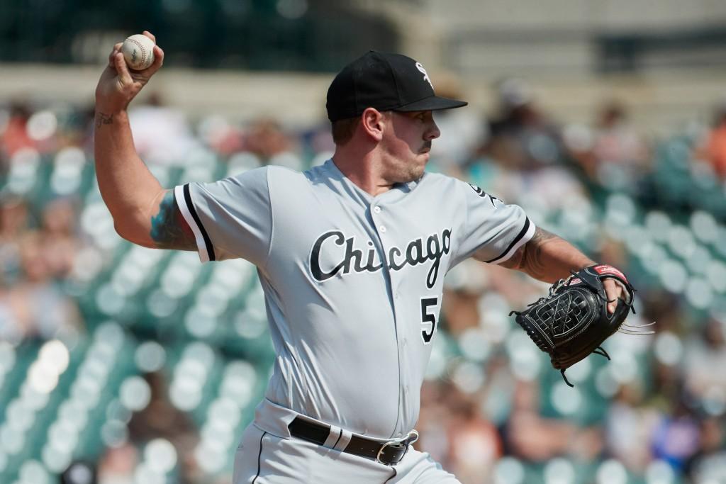 White Sox Outright Chris Beck, Tyler Danish