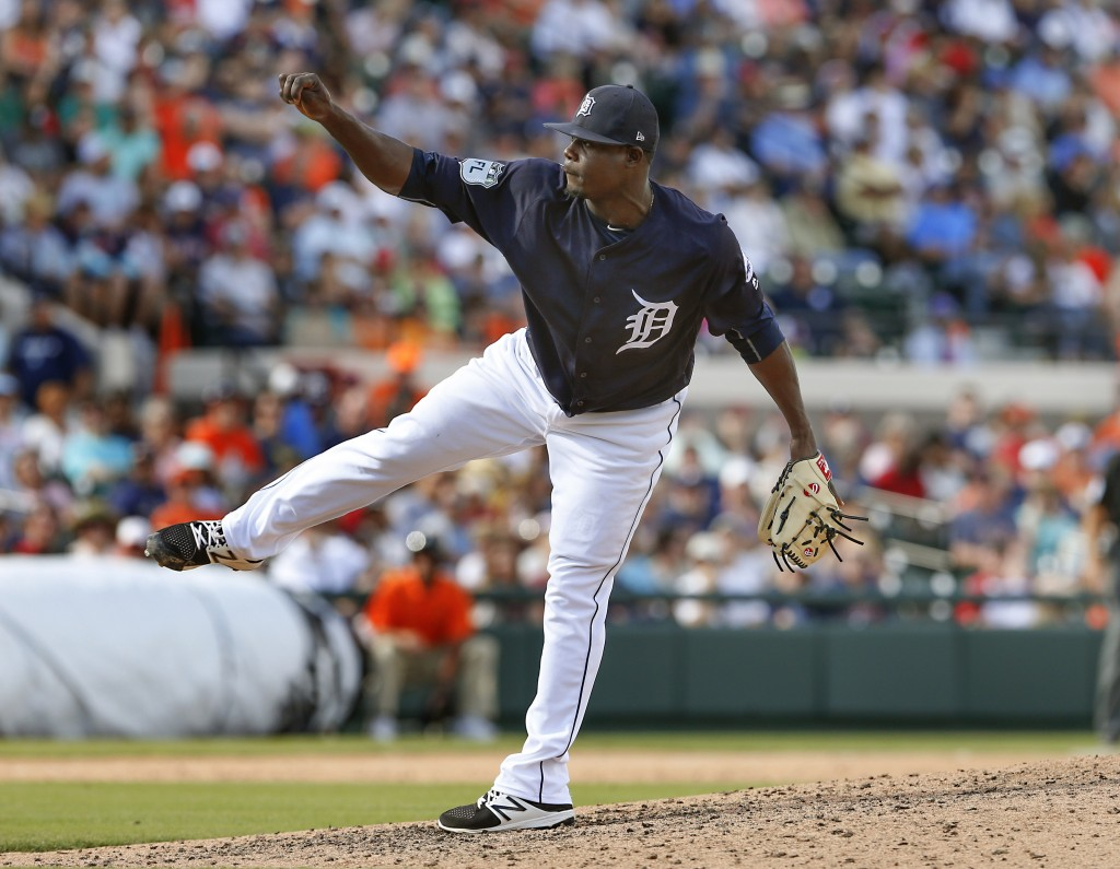 Tigers Outright Victor Alcantara - MLB Trade Rumors