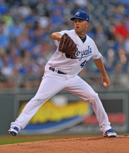 Danny Duffy | Peter G. Aiken-USA TODAY Sports