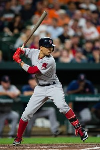 Mookie Betts |  Patrick McDermott-USA TODAY Sports