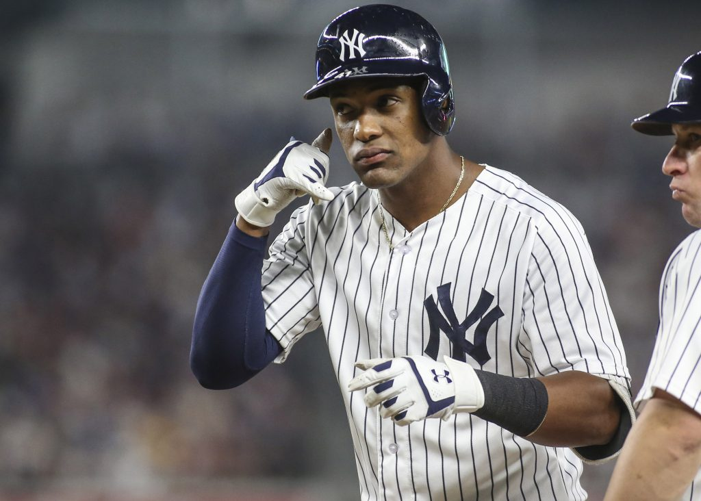 Yankees Recall Miguel Andujar, Option Albert Abreu - MLB Trade Rumors