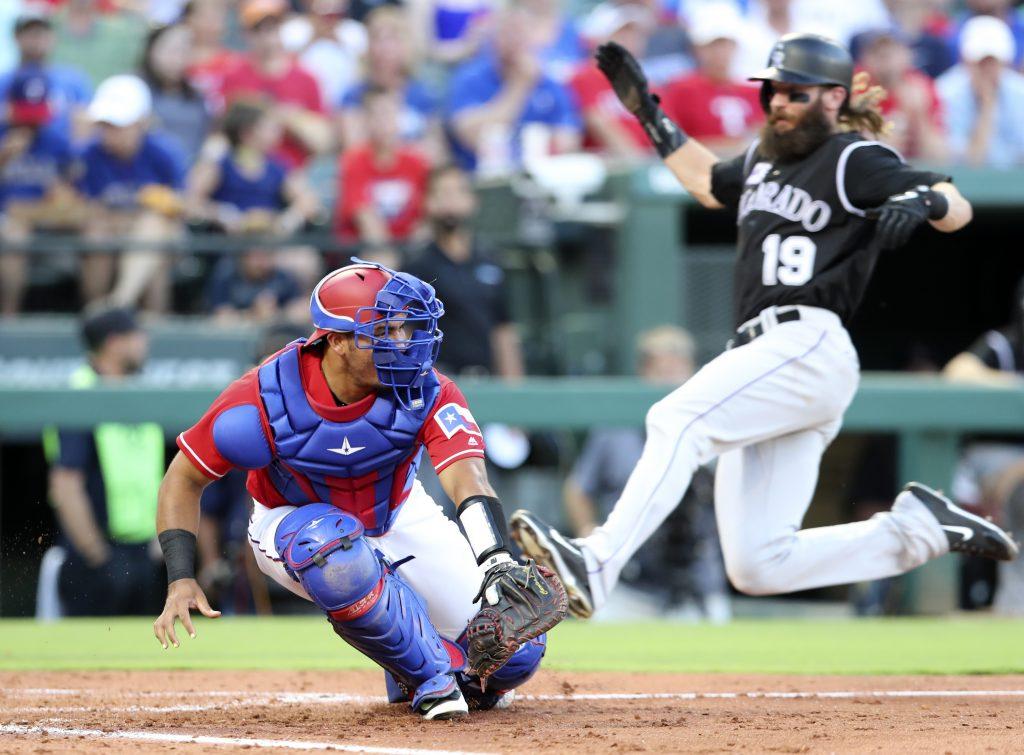 Rangers Outright Carlos Perez - MLB Trade Rumors