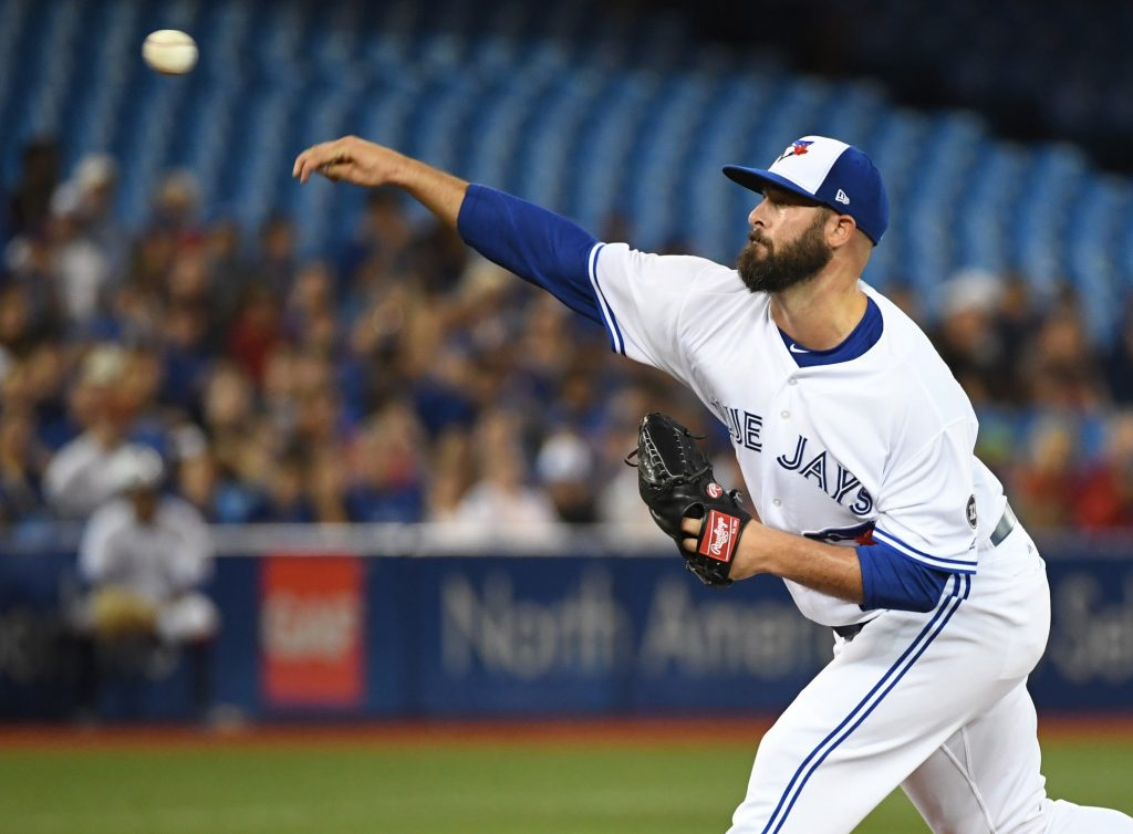 Blue Jays Outright Mike Hauschild Mlb Trade Rumors