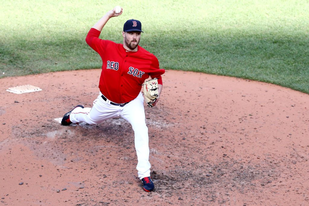 Heath Hembree Added To Red Sox ALDS Roster - MLB Trade Rumors