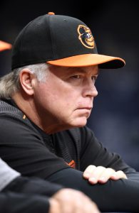 c05a0b485cb Buck Showalter The Orioles  hideous 2018 performance dragged Showalter s  record as the team s manager under the .500 mark