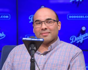 Farhan Zaidi | Kirby Lee-USA TODAY Sports