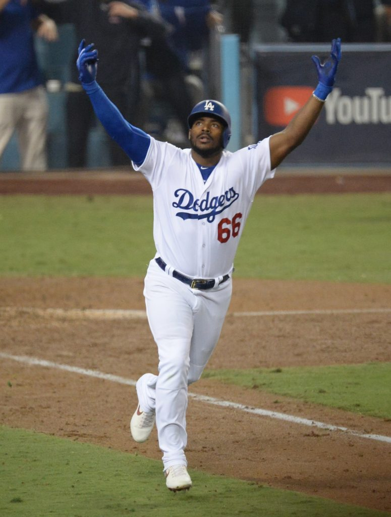 YASIEL PUIG LA DODGERS MLB iphone case