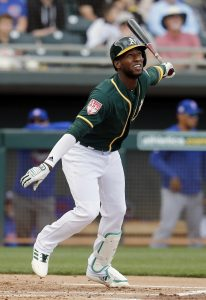 9d78d868b On the position player side, a particularly notable offseason change came  at second base, where the A's bid adieu to Jed Lowrie in free agency but  welcomed ...