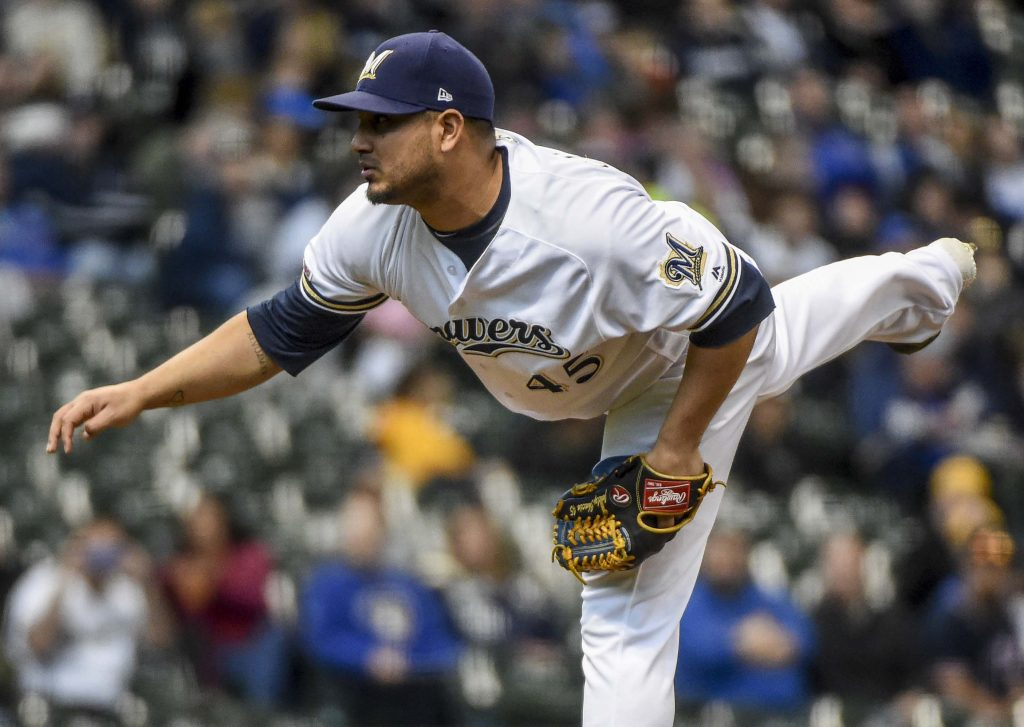 Brewers Designate Jhoulys Chacin For Assignment
