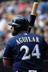 Jesus Aguilar | Michael McLoone-USA TODAY Sports