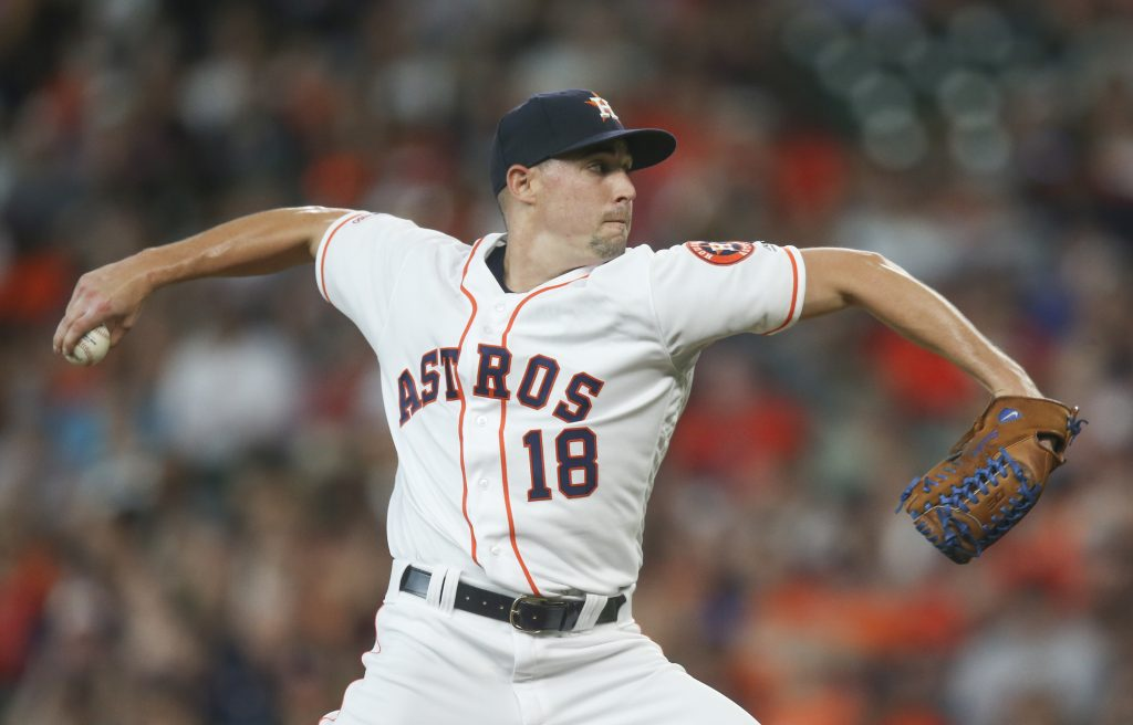 Astros Place Aaron Sanchez On Injured List