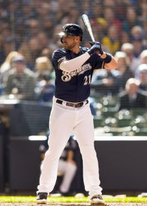 Travis Shaw | Jeff Hanisch-USA TODAY Sports