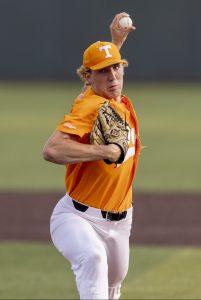 Garrett Crochet (via Andrew Ferguson/Tennessee Athletics)