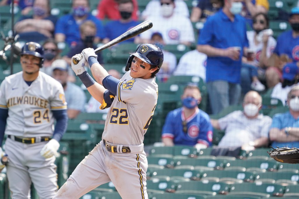 Brewers Activate Christian Yelich From COVID List