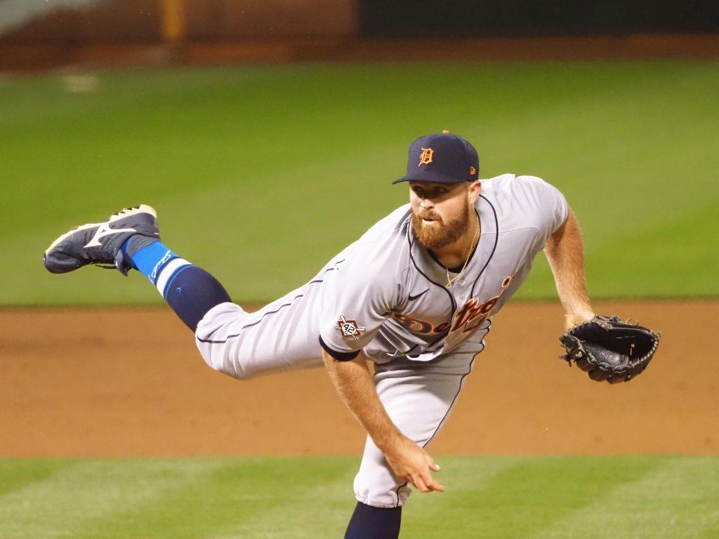 Tigers Designate Buck Farmer For Assignment - MLB Trade Rumors