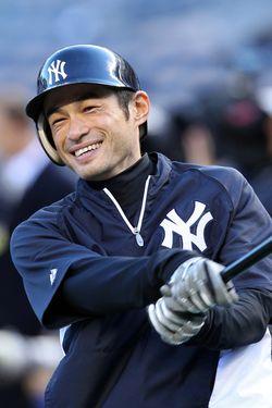 Ichiro - Yankees (PW)