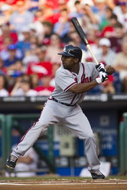 Michael Bourn - Braves (PW)