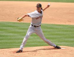 Randy Johnson - Giants (PW)
