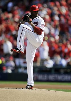Edwin Jackson - Nationals (PW)