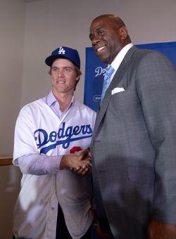 Greinke Dodgers